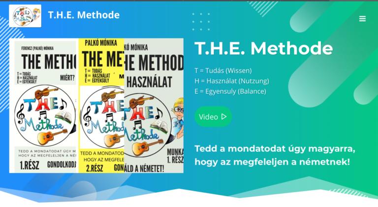 THE Methode – neue Homepage